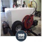 390 Gallon Diesel Gas Trailer