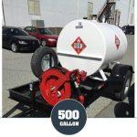 500 Gallon Diesel Gas Trailer